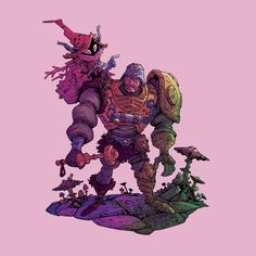 Masters of the Universe commission by buonaseraukulele.deviantart.com on @DeviantArt