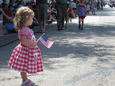 4th of July Parade - cute
