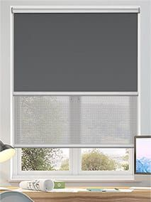 Day and Night Blinds Double Roller Blinds, Grey Roller Blinds, Grey Blinds, Home Curtains, Curtains With Blinds, Window Blinds, Childrens Blinds, Day Night Blinds, Patterned Blinds