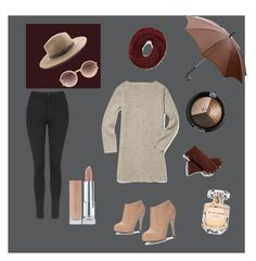 """Annie Hall eat your heart out"" by tiffany-cherise-bryant on Polyvore featuring Rebecca Minkoff, Linda Farrow, Forever 21, rag & bone, Gucci, Elie Saab, FRR and Topshop"