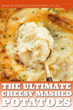 Cream Cheese Mashed Potatoes, Roasted Garlic Mashed Potatoes, Cheesy Mashed Potatoes, Best Mashed Potatoes Ever, Cheesy Potato Bake, Butter Potatoes, Perfect Mashed Potatoes, Creamed Potatoes, Baked Potatoes