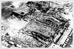 rotterdam - oud-charlois - airport waalhaven bombed by germans