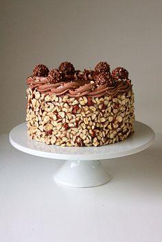 Ferrero Rocher Cake - Oh Sweet Day!