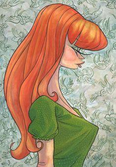 Red Hot by MarkSheard on DeviantArt Kustom Kulture, Artsy Fartsy, Disney Characters, Fictional Characters, Aurora Sleeping Beauty, Deviantart, Hot, Artist, Artists