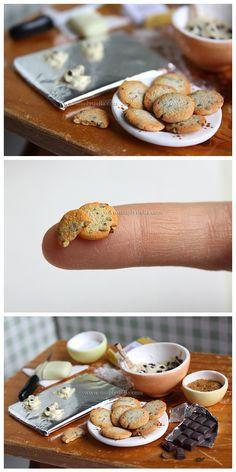 Chocolate chip Cookies - Prep by ~thinkpastel on deviantART
