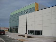 uses and supplies the EQUITONE fibre cement facade for cladding or assembly component. Roof Cladding, Ontario, Facade, Buildings, Arch, Multi Story Building, Engineering, Random, Modern