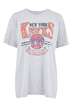 New York Knicks Nibble T-Shirt by UNK X Topshop
