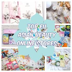 This is a list of the Top European based Online Asian Beauty Stores to shop at! Stores to go to get your Korean, Japanese and other Asian Beauty Brands fix!