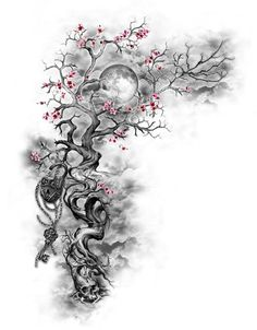 Cherry Blossom Tattoo: Meaning, Designs, Ideas and Much More! Sakura tattoos have been taking the world by storm lately. From what each color tattoo means to plenty of designs, this article will make you want to get a cherry blossom tattoo for yourself! Trendy Tattoos, New Tattoos, Body Art Tattoos, Small Tattoos, Tatoos, Girly Tattoos, Blue Rose Tattoos, Wing Tattoos, Back Tattoos