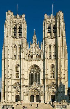 Kathedrale St. Michael und St. Gudula (Brüssel) – Wikipedia
