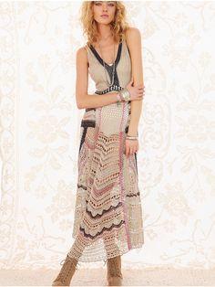 Crinochet: Еще Макси платье из Свободного Народа