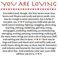 Love Notes for Special Parents Gallery: You Are Loving