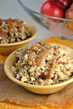 Whole30 Apple-Coconut Breakfast Bowl | Paleo | Gluten-free | Vegan | REAL FOOD