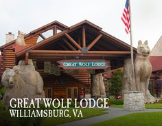 Your Great Wolf Lodge adventure begins in our massive, 84-degree indoor water park. Pin your favorite activities to your own board and start picturing your Great Wolf Lodge Williamsburg getaway!
