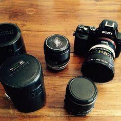 Getting ready x tomorrow!! #sony #a7s #7s #shooting #doc #valencia #film #canon #lenses #gflamingos #greenflamingos
