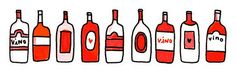 How to Drink Wine (and you thought you knew...) by A Cup of Jo. click to read and see the pretty illustrations!