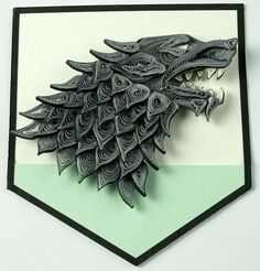 Game of Thrones Fan Art — Jaw Dropping Awesome Set of House Sigils Handmade...