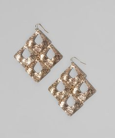 Take a look at this Gold Dandle Earrings by Gabrielle Jewelry on #zulily today!
