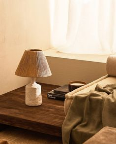 Trending (Part – 7 Chic elements to have in your home according to home decor shops Zara Home Table Lamps, Living Room Lighting, Bedroom Lighting, Studio Bed, Paper Lampshade, Zara Home España, Turbulence Deco, Coffee Table Books, Home Decor Shops