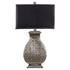Found it at Wayfair - Table Lamp in Silver (Set of 2)