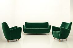 1950's set in the style of Gio Ponti