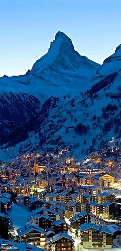 Zematt and Matterhorn,Switzerland