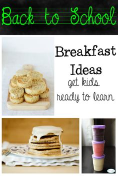 Back to school Breakfast Ideas for Kids