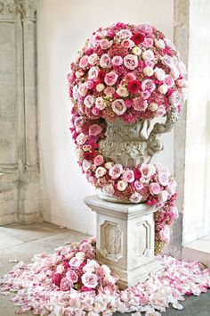 Pink Themed Wedding Pictures (BridesMagazine.co.uk)