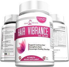 Hair Skin Nail Vitamin Supplement - with Biotin for Shiny Hair Healthy Skin Stronger Nails Island Vibrance http://www.amazon.com/dp/B00X51LU2I/ref=cm_sw_r_pi_dp_BjXPwb02BSV0R