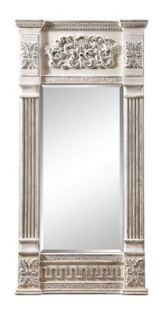 One Allium Way Ashmore Full Length Mirror Luxury Home Furniture, Dream Furniture, Hallway Mirror, Arch Mirror, Door Design, House Design, Modern Fountain, Trumeau Mirror, Neoclassical Architecture