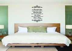 Audrey Hepburn Beauty Inspirational Quote Wall Sticker. Bedroom ...