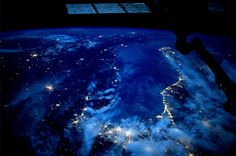 The Adriatic Sea.  Taken October 18, 2013.  KN from space.