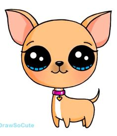 the dog kawaii
