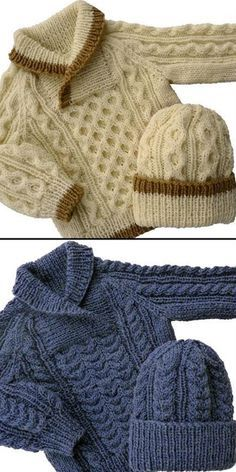 Lavori a maglia Baby to Toddler Cable Sweater & Hat Knitting pattern by KittyKnits Baby-Strickanleitung baby Baby Pullover Cable Hat KittyKnits Knitting Lavori maglia Pattern Sweater Toddler Baby Knitting Patterns, Baby Cardigan Knitting Pattern, Baby Patterns, Free Knitting, Baby Sweater Patterns, Kids Knitting, Knitting Charts, Knitting Stitches, Knitting Projects