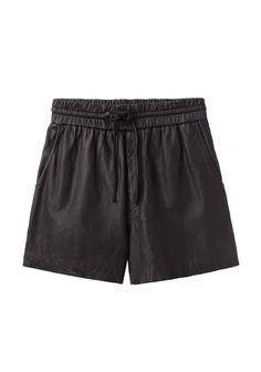 HELMUT Helmut Lang / Leather Shorts | La Garçonne