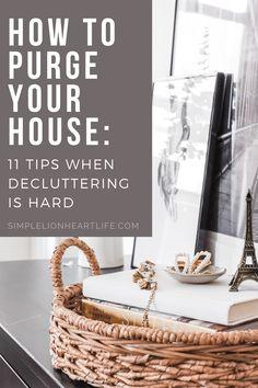 Declutter Bedroom, Declutter Your Home, Organizing Your Home, Organizing Ideas, Downsizing Tips, Branding, Making Life Easier, Minimalist Lifestyle, Slow Living
