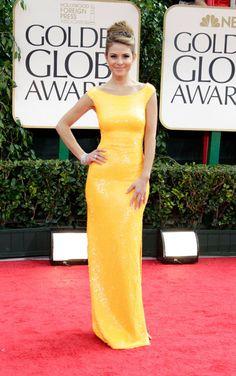 Maria Menounos, Golden Globes 2012… I'm in <3 w/this dress! Simple & Elegant.