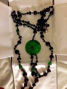 Ladies Necklace With Jade Pendant | eBay