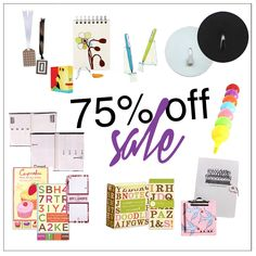 75% off so many cute office supplies!