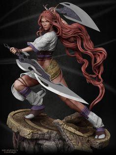 Heavenly Sword Nariko, Marthin Agusta on ArtStation at http://www.artstation.com/artwork/heavenly-sword-nariko