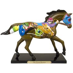 The Front Runner Figurine - Trail of Painted Ponies