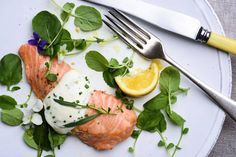 Wild King Salmon With Savory Whipped Cream Recipe . The wild king salmon season opens in May on the West Coast and continues Salmon Recipes, Fish Recipes, Seafood Recipes, Cooking Recipes, Nytimes Recipes, Cooking Nytimes, Recipies, Recipes With Whipping Cream, Cream Recipes