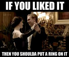 This Downton Abbey Tumblr Combines the Popular Show With Beyonce Lyrics