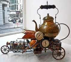 Flying Machine 3 by Ernie Abdelnour for steampunkinetics