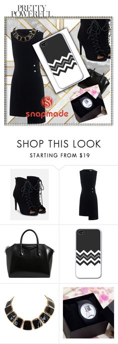 """Snapmade #7/3"" by soofficial87 ❤ liked on Polyvore featuring JustFab, Finders Keepers and Givenchy"