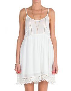 Lush Clothing - Gauze Babydoll Dress | 2020AVE
