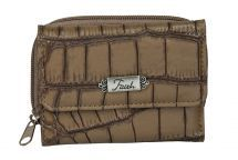 Womens Tri-Fold Wallet - Khaki Croc Faith Engraved - Brown Imitation Leather NEW Bible Bag, Christian Gifts, Purse Wallet, Crocs, Purses And Bags, Diaper Bag, How To Find Out, Best Gifts, Faith
