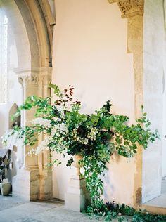 Earthy flower arrangement.