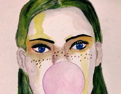 """Check out new work on my @Behance portfolio: """"Bubble Gum"""" http://be.net/gallery/32857323/Bubble-Gum"""