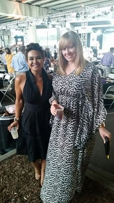 Excited to see Kelsey Bigelow from Denver Style Magazine at the Urban Nights Denver runway fashion show last night looking simply amazing! #kelseybigelow #urbannights #fashion #annafesta #caftan